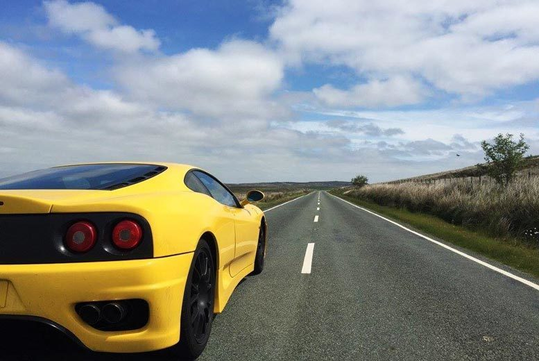 Belfast: Golden Moments Ferrari Motorway Driving Experience, Belfast from £85
