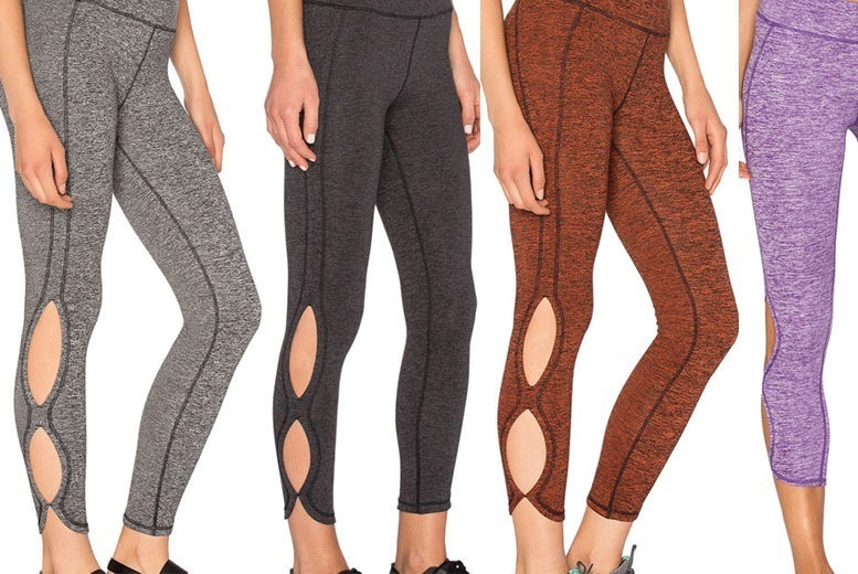 Cut-Out Workout Leggings – 2 Colours! from £8.99