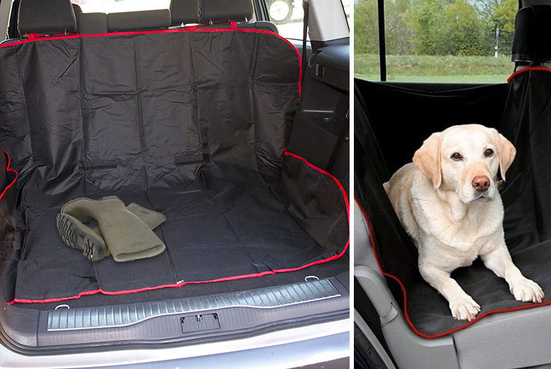 2-in-1 Waterproof Car Boot & Seat Liner from £4.99