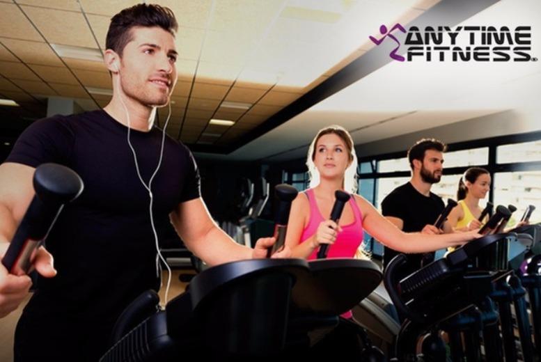 Edinburgh: 10 Day Gym Pass – Anytime Fitness, Edinburgh for £10