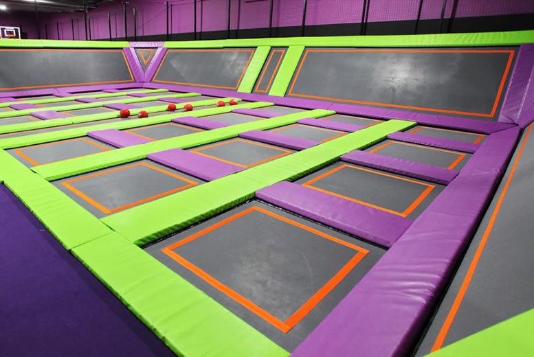 Reading: 1hr Atom Trampoline Park Entry, Reading – 1 Or 2 People! from £7.5