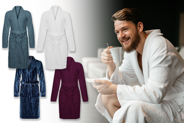 Soft Fleece Dressing Gown from £12