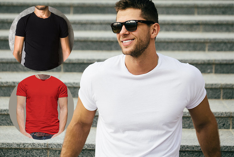 3pk Men's T-Shirts from £5.99