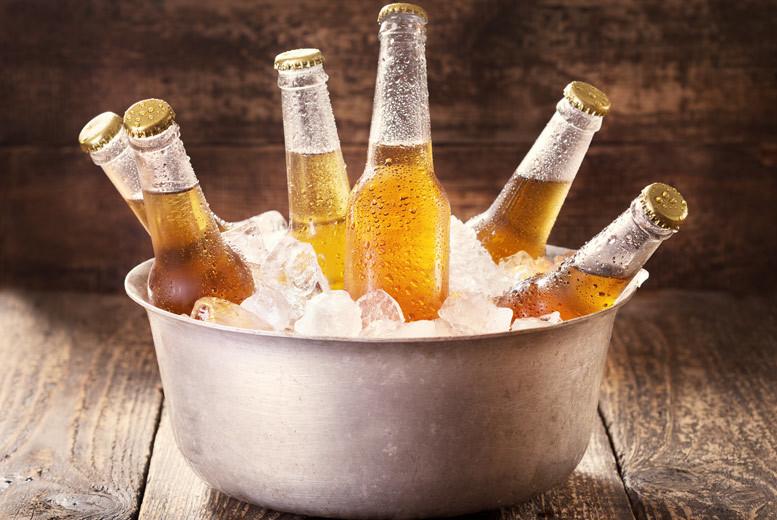Liverpool: Beer Bucket @ Sound City Bar, Pier Head Village for £12