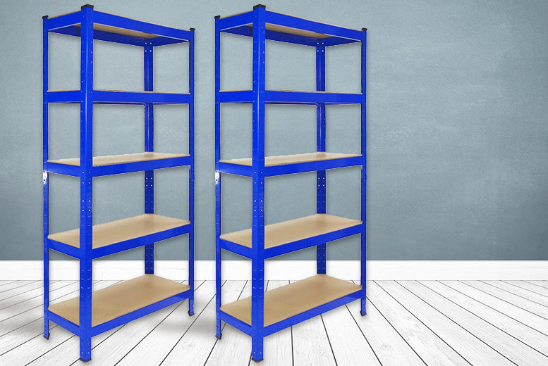 £32 instead of £179.49 (from Euro East Biz) for a pair of heavy-duty five-tier storage shelves - save 82%