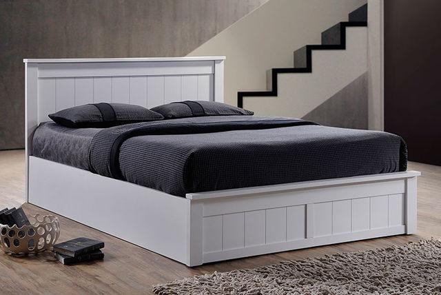 Wooden Ottoman Bed Amp Optional Memory Foam Mattress 2