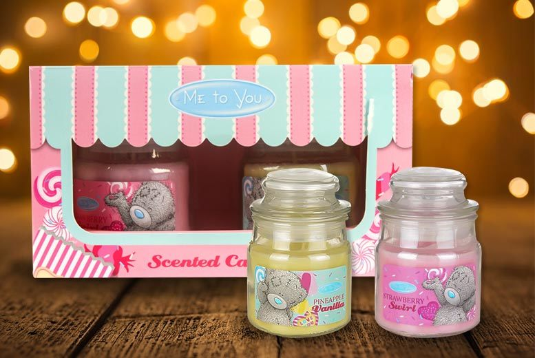 The Best Deal Guide - Me to You Scented Candles Gift Set - Strawberry & Pineapple!