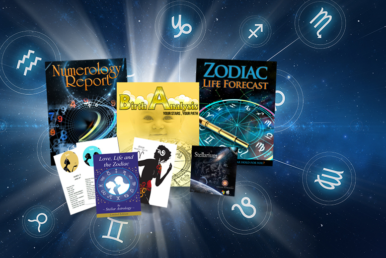 £4.99 instead of £65.40 (from Stellar Astrology) for an astrology \'life forecast\', natal \'birth report\' and \'numerology report\' - save 95%