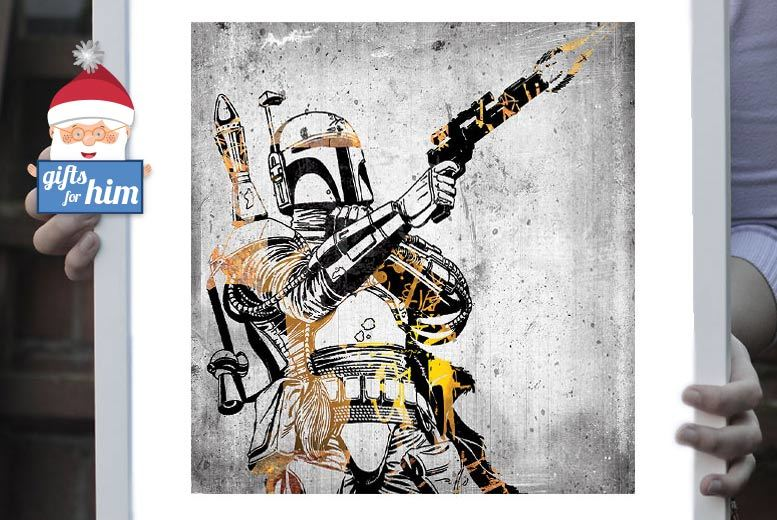 £9 instead of £69 (from ARTF.LY) for a regular framed Star Wars print, or £15 for a large print - choose from over 60 designs and save up to 87%