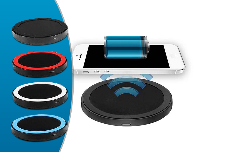 From £9.99 instead of £24.99 (from ClickWrap) for a Qi wireless charging pad - lead the charge and save up to 60%