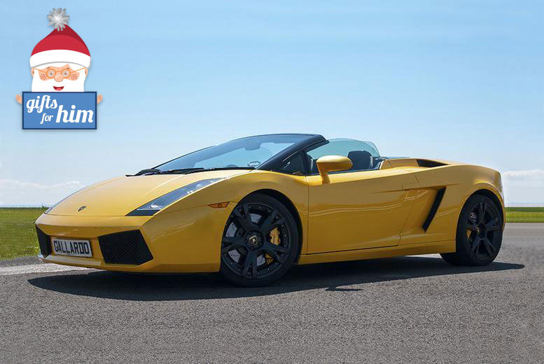 From £39 for a three-lap supercar experience, from £85 for six laps or from £119 for nine laps at a choice of four venues with Supercar Test Drives - save up to 74%