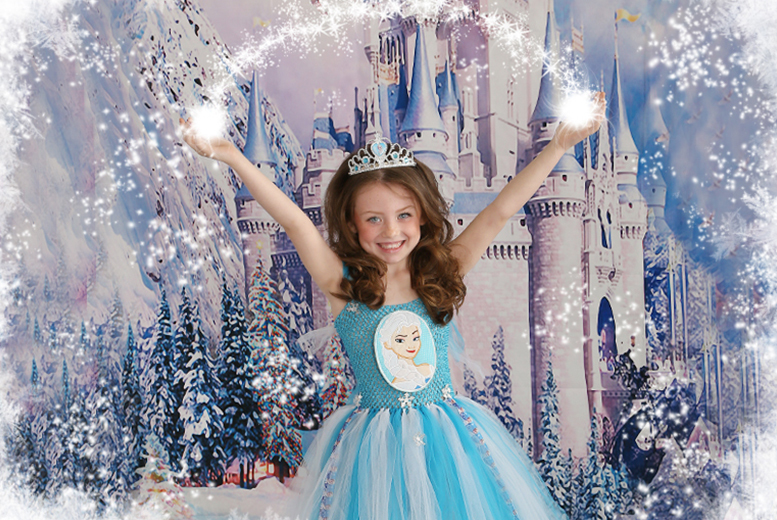 £9 for a Frozen, fairy, princess or ballerina-themed photoshoot with one snowglobe and two keyrings from Picture Perfect by Mario, Kent - save up to 85%
