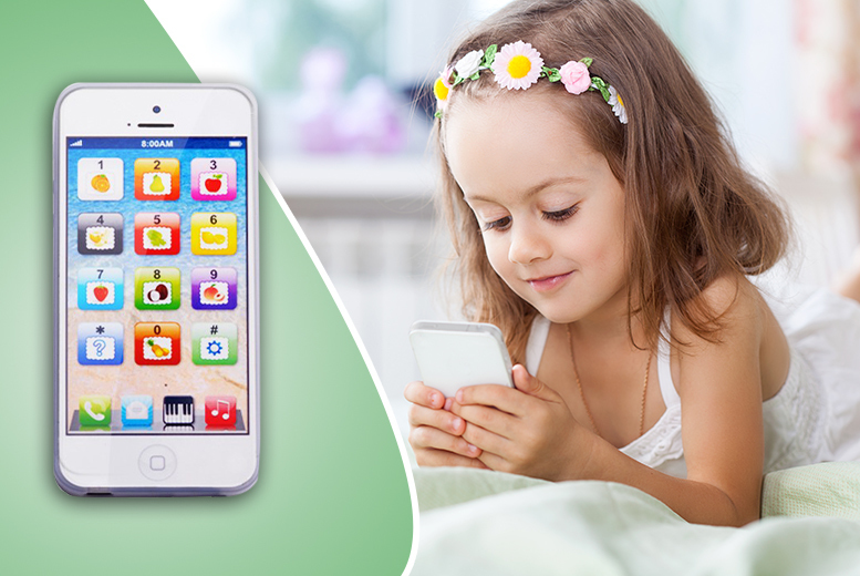 £4.99 instead of £24.99 (from Toy Meets World) for a kids' toy Y-phone - save 80%