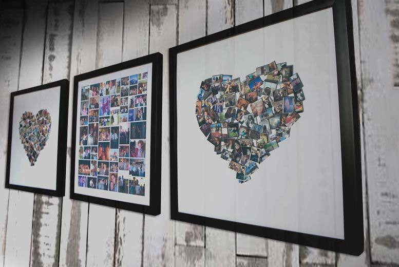 £6.95 instead of £69 (from ARTF.LY) for a 25cm x 25cm framed collage print, £11.95 for a 38cm x 38cm frame - save up to 90%