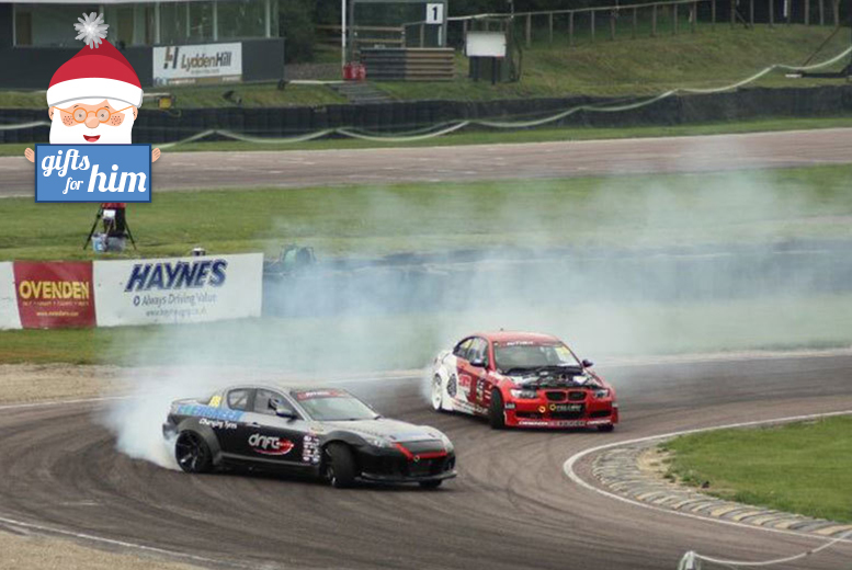 £65 instead of £199 for a two-hour drifting experience and passenger \'thrill\' ride for one person at Drift Elite, Throckmorton Airfield - save 67%
