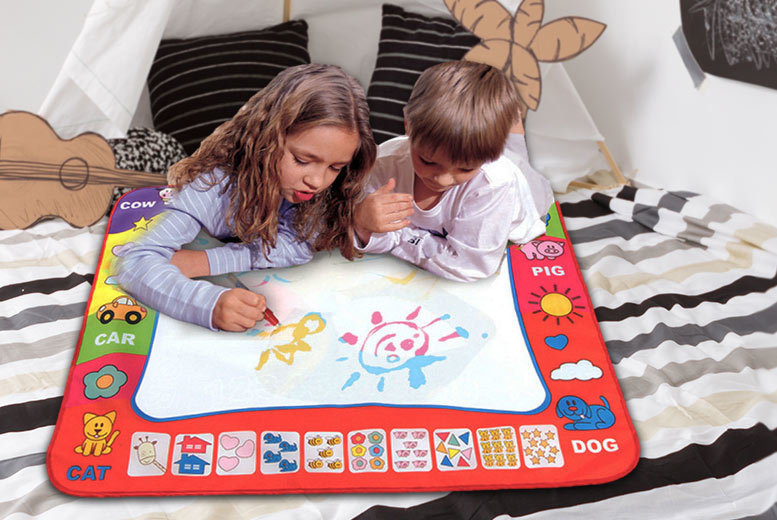 £4.99 instead of £24.99 (from Snap One Up) for a small magic doodle mat, £8.99 for large - save up to 80%