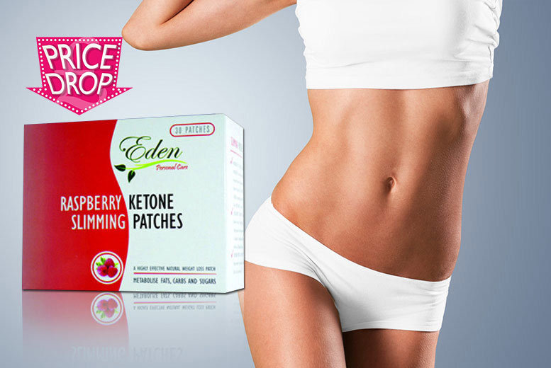 £8 instead of £45 (from Eden Personal Care) for a one-month* supply of raspberry ketone tummy patches - save 82%