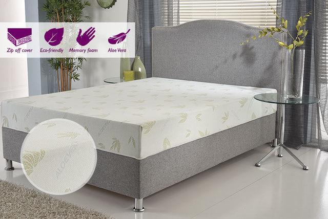 aloe vera naturalflex memory foam mattress