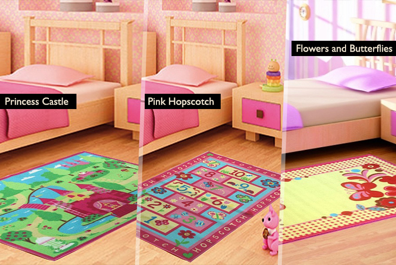£9.99 instead of £29.99 (from Funky Buys) for a small children's play mat rug, £14.99 for a medium rug or £18.99 for a large rug - save up to 70%