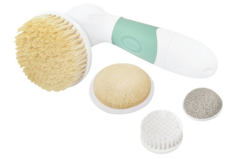 Elle Macpherson Wet & Dry Face And Body Exfoliation Brush Set from £9.99