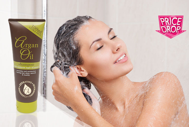 250ml Argan Oil Shampoo from £2.99