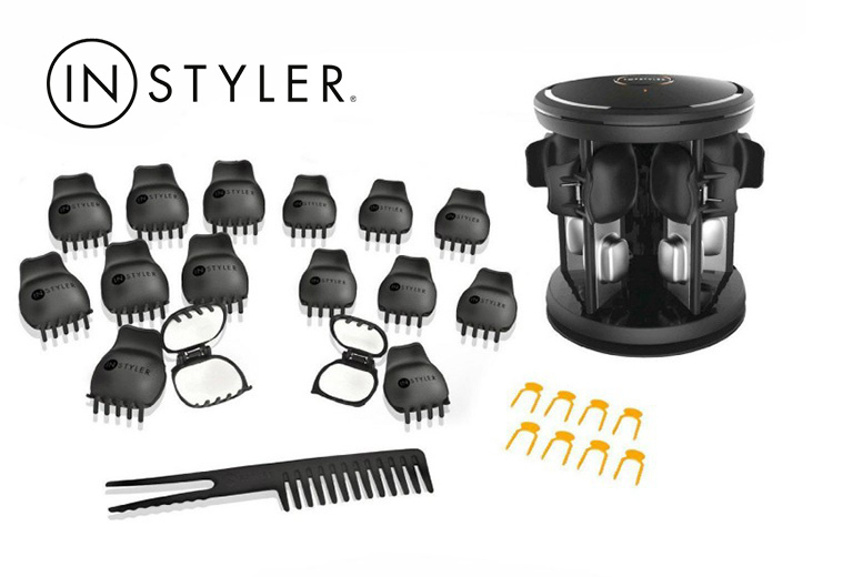 27pc InStyler Ceramic Curling Shell Set from £14.99