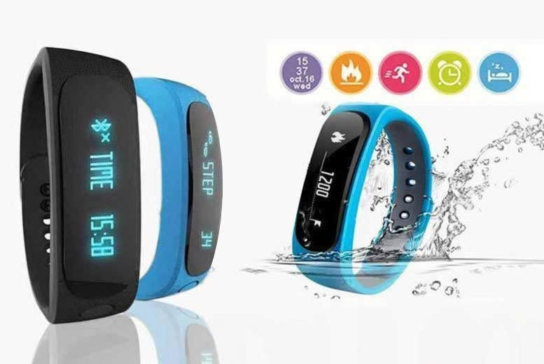 12-in-1 Fitness Tracker – 2 Colours! from £12.99