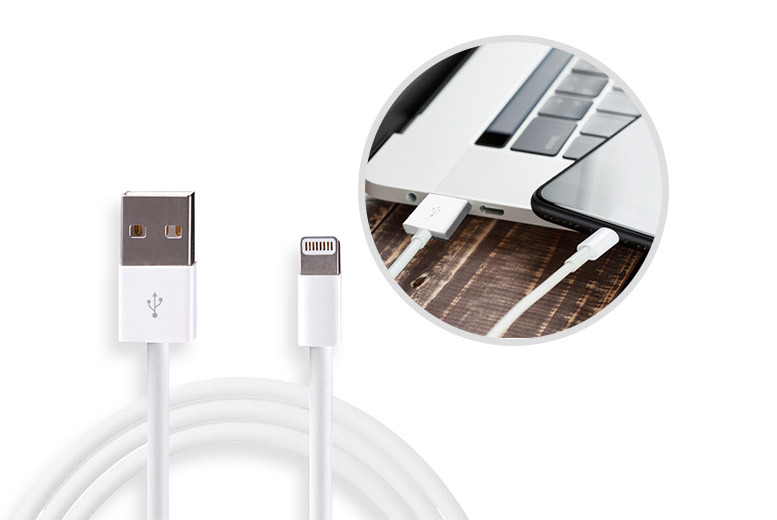 3m Lightning Charger Cable from £3.99