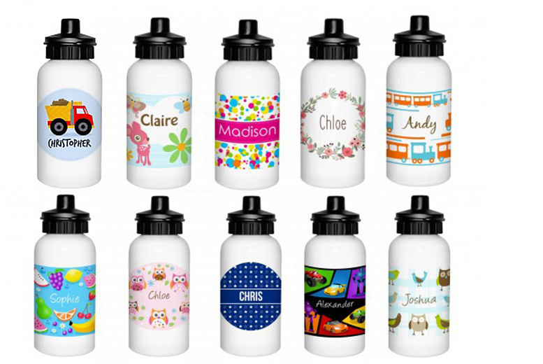 Personalised Kids' Drink Bottle from £7.99