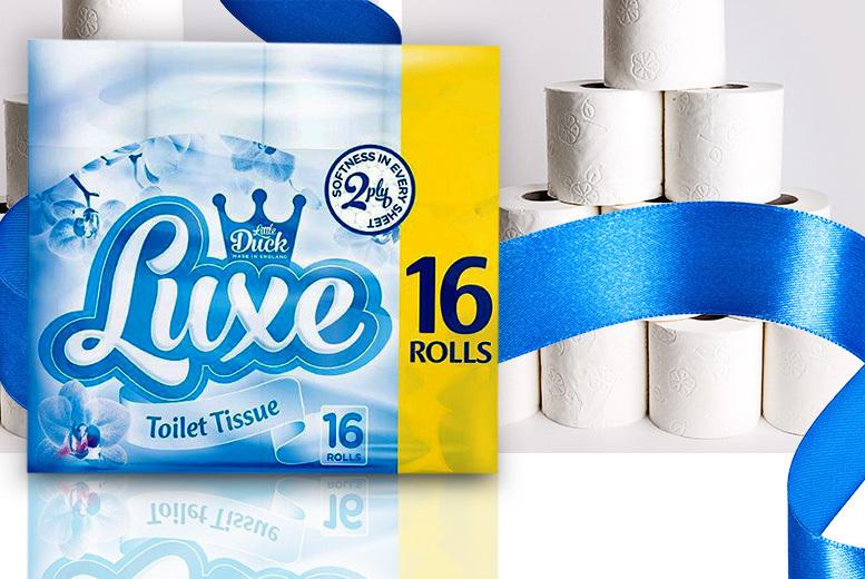 80 Little Duck Luxe 2-Ply Toilet Rolls from £13.99