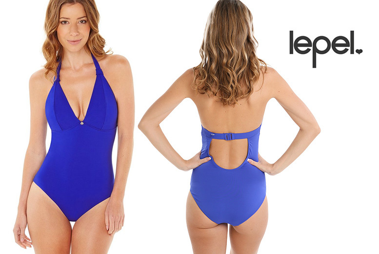 Lagoon By Lepel One-Piece Swimsuit – Sizes 8-16! from £7.99