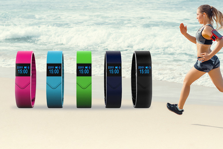 M5 Pro Activity Tracker with Heart Rate & Blood Pressure Monitor – 5 Colours! from £19