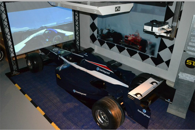 F1 Driving Simulator For 2 Or 4