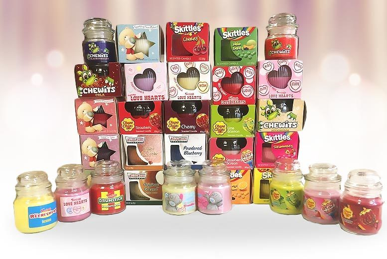 Lucky Dip' Set of 6 Candles for £9.99