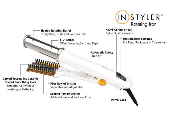 InStyler Titanium Rotating Hair Iron for £24.99