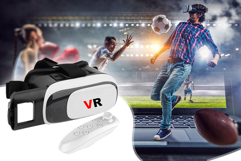 Smart View Virtual Reality Headset for £12