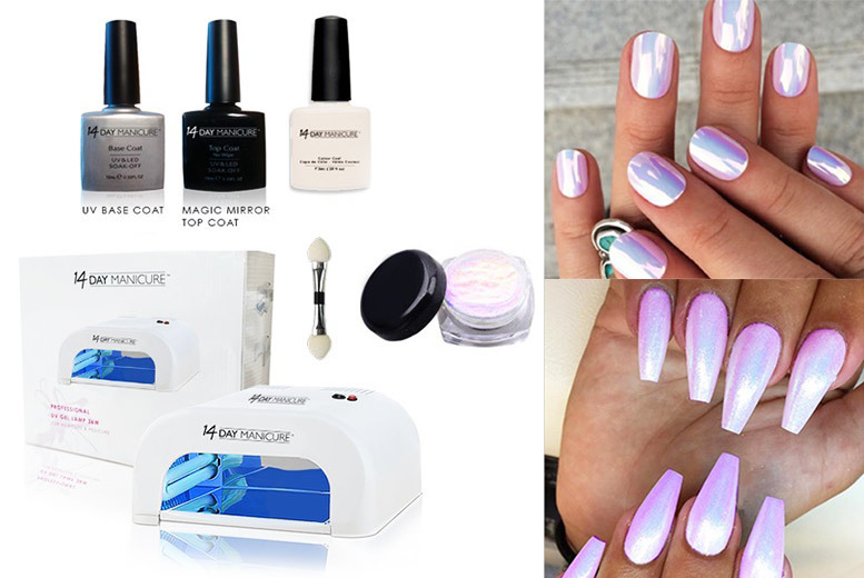 Five-Piece Unicorn Nails Manicure Kit for £29.99