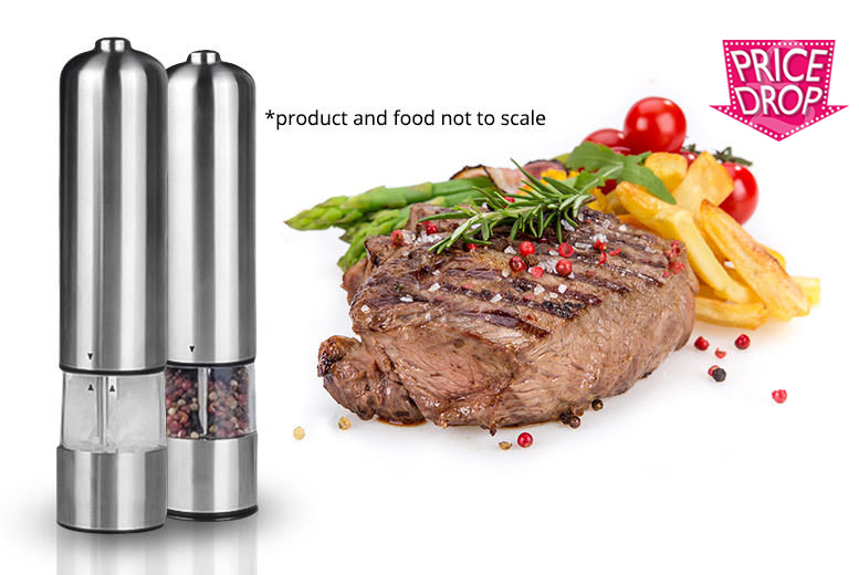 The Best Deal Guide - Pair of Electronic Salt and Pepper Mills