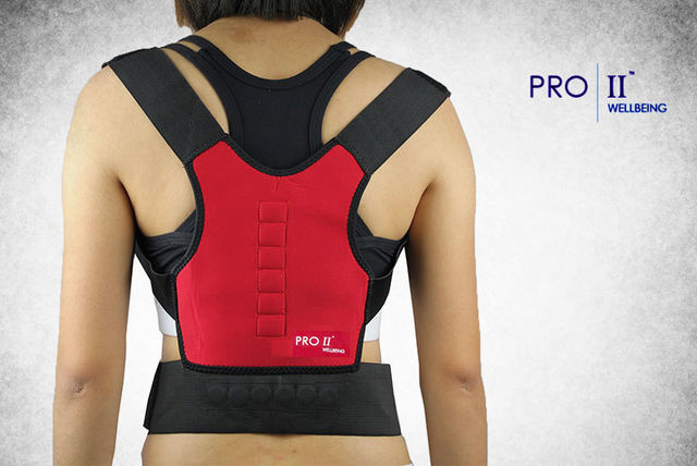 elasticated back posture corrector Support