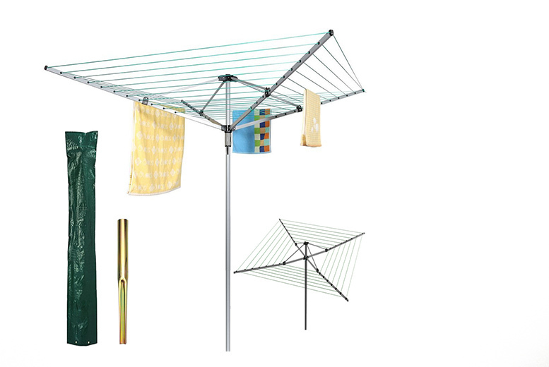 50m Heavy Duty Rotary Clothes Airer from £19.99
