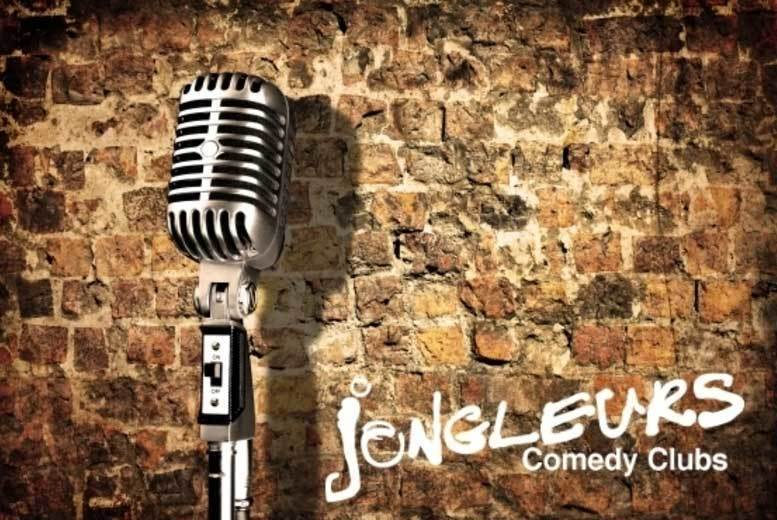 London: Jongleurs Comedy Show for 2, 4 or 6 – 7 Locations! from £16