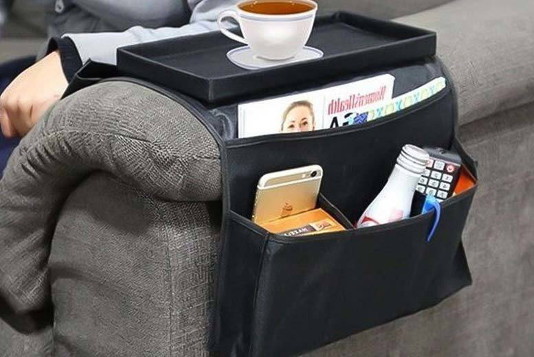 £4.99 instead of £17 (from Grids London) for a six-pocket armchair organiser - save 71%