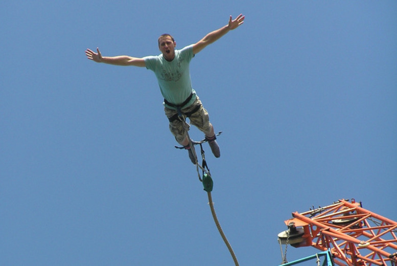 Manchester: 160ft Bungee Jump – Choice of 10 Locations Including the O2! from £39