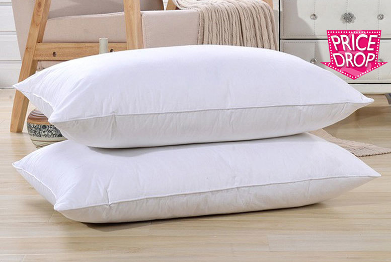 Luxury Goose Feather Amp Down Pillows For 163 9 99