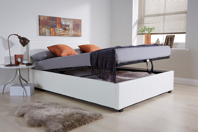 From £139 for an end-lift Ottoman storage bed, from £199 to include a memory foam mattress - choose from three colours and save up to 65% + DELIVERY INCLUDED!