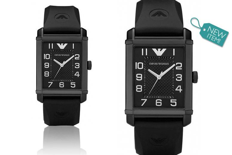 Emporio Armani Classic Black Unisex AR0499 Watch