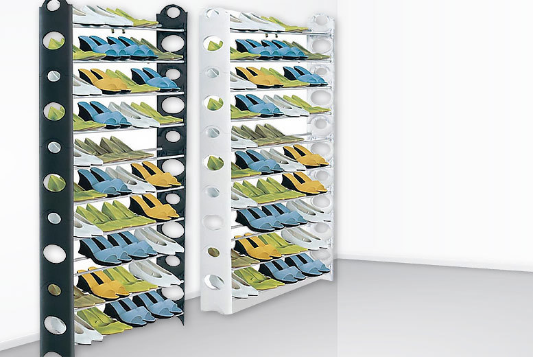 £14 instead of from £25 (from HTG Direct) for a 50-pair giant shoe rack - save 44%