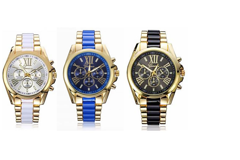 Unisex Geneva Watch - 3 Styles!