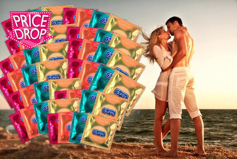 £29.99 instead of £99.98 (from Merchtopia) for a year's* supply of Durex condoms - get lucky, stay safe and save 70%