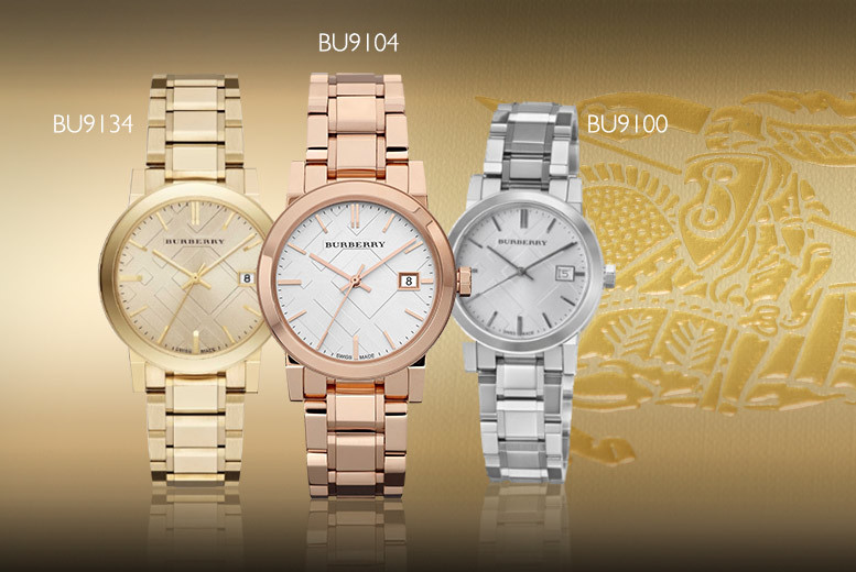 From £169 (from Gray Kingdom) for a ladies' luxury Burberry watch - choose from six gorgeous styles and save 72%
